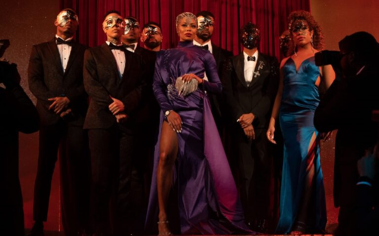 [Watch] Tyler Perry's Strip Club Drama Series 'All The Queen's Men' Starring Eva Marcille Drops Trailer