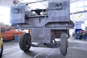 image of Rosco Chip Spreader after sandblasting