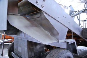 image of Rosco Chip Spreader after sandblasting 2