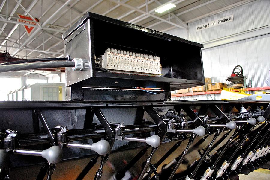 image of Used Chip Spreader Rebuilt Hopper