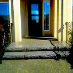 Stamped Aggregate Porch