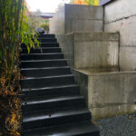 Wallace Stairs & Planters