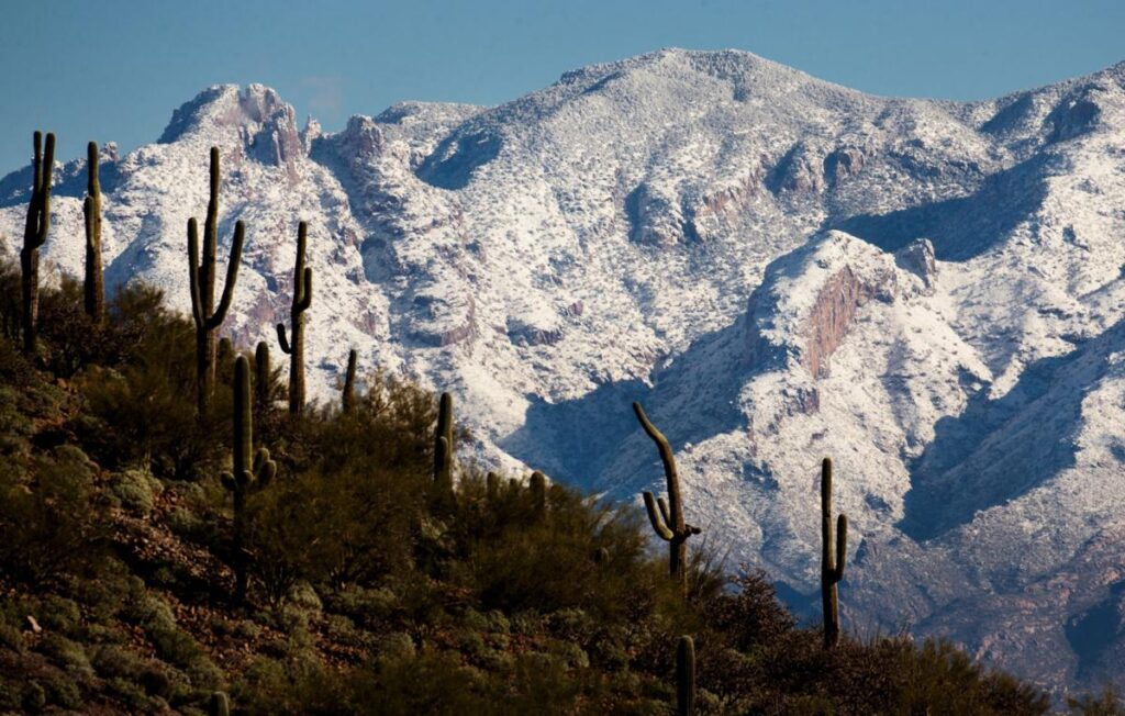 Mount Lemmon in Tucson Arizona