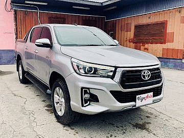 2016 Toyota Hilux with 2020 Facelift