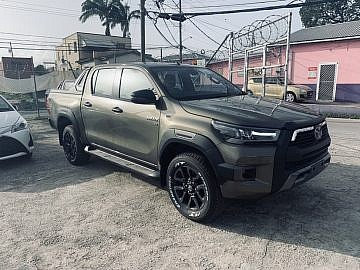 All New 2021 Toyota Hilux Rocco