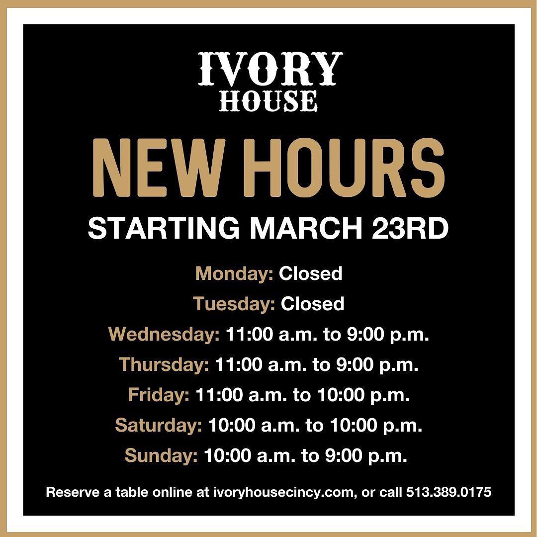 Ivory House Westwood Cincinnati Steak Dinner Lunch Brunch Happy Hour