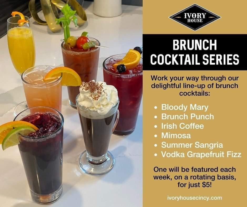 ivory house cincinnati westwood brunch cocktail series bloody mary mimosa irish coffee vodka sangria vodka grapefruit