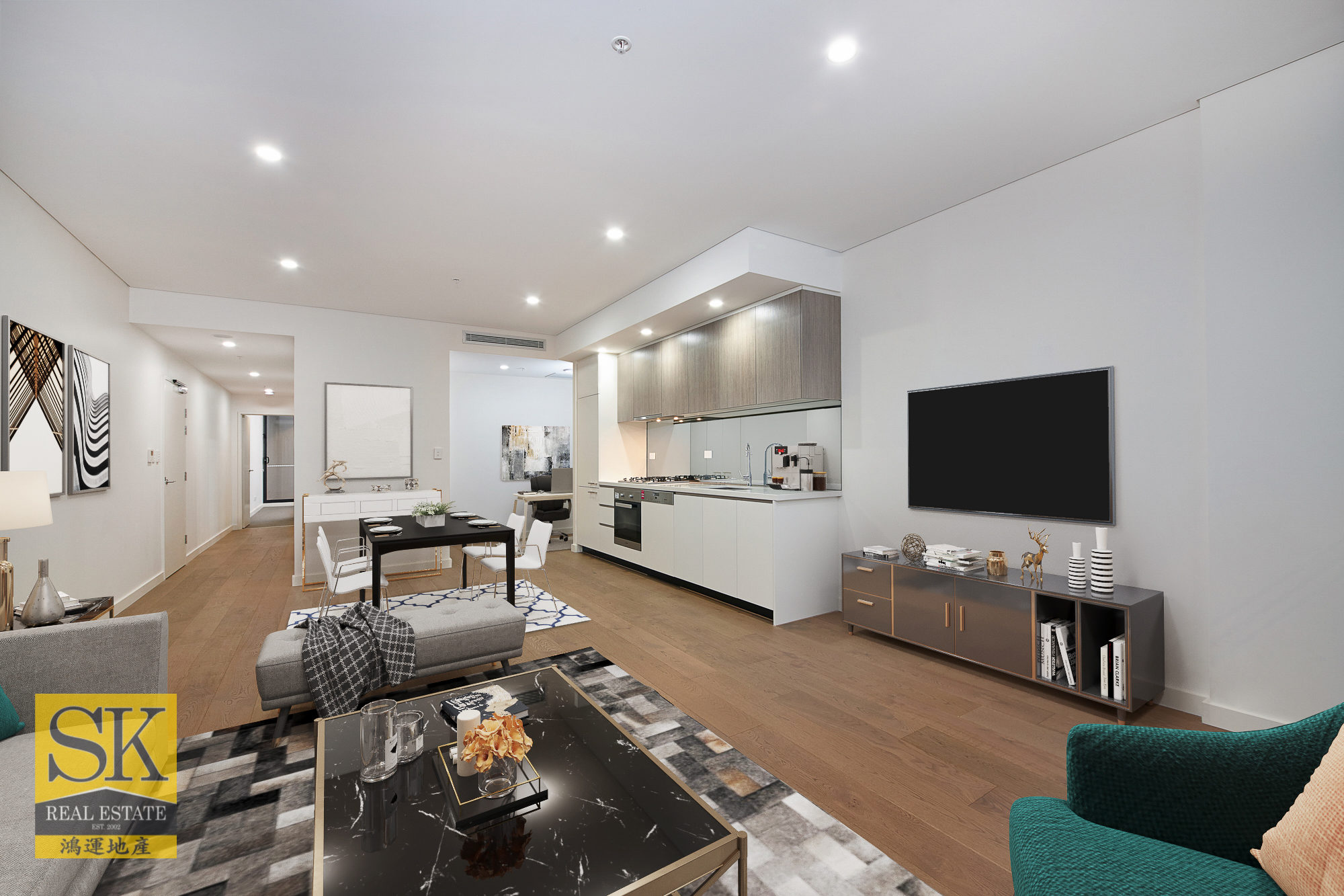 Luxurious Parksize Living in Zetland with Resort View