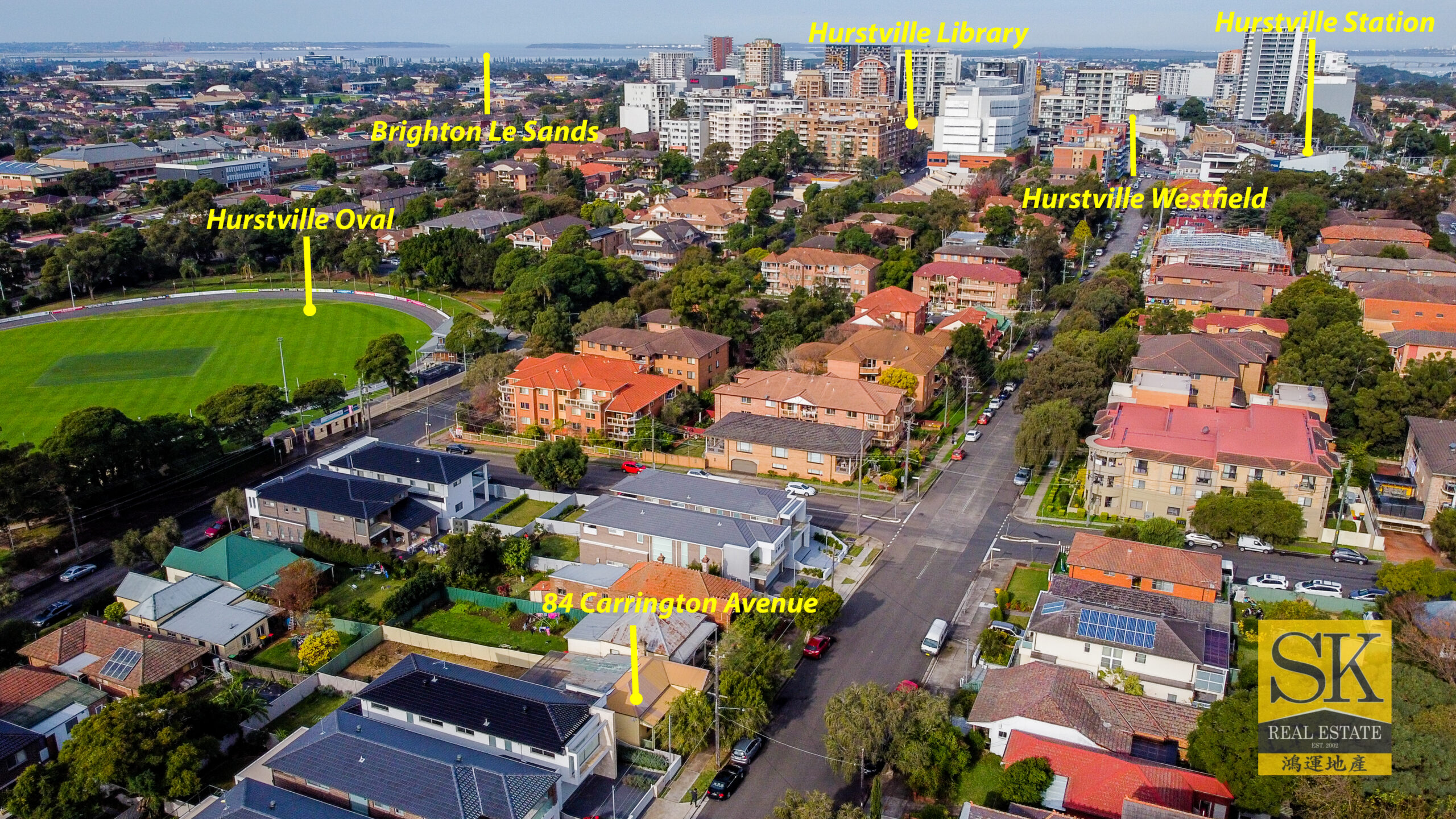 (SOLD) OVER RESERVE PRICE $55,000    Must-see property potential for development in a prime location to Hurstville CBD