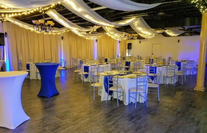 Party in the Athena ballroom, Athena Wedding Dallas Tx