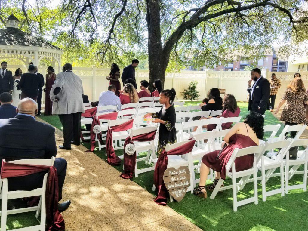 Pop Wedding party Venues in Dallas Tx