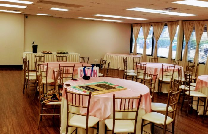 The Aphrodite Room, Inexpensive Baby Shower Venues