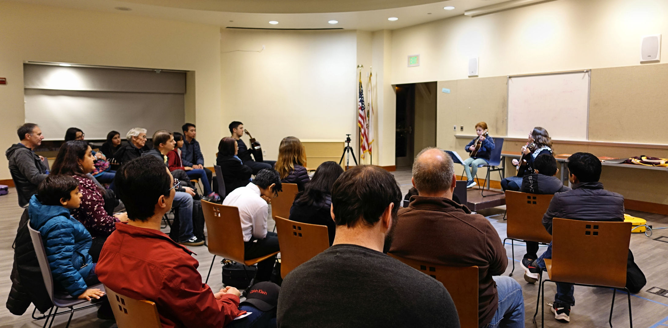 Open Mic night at Vineland branch library