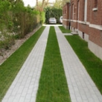 Purus EcoRaster Reinforced Grass Green Driveway