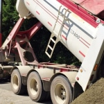 Western Turf Farms End Dump Truck