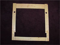 Early Accu-tec wooden frame