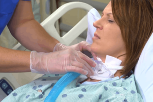 High intensity support activity – Tracheostomy care