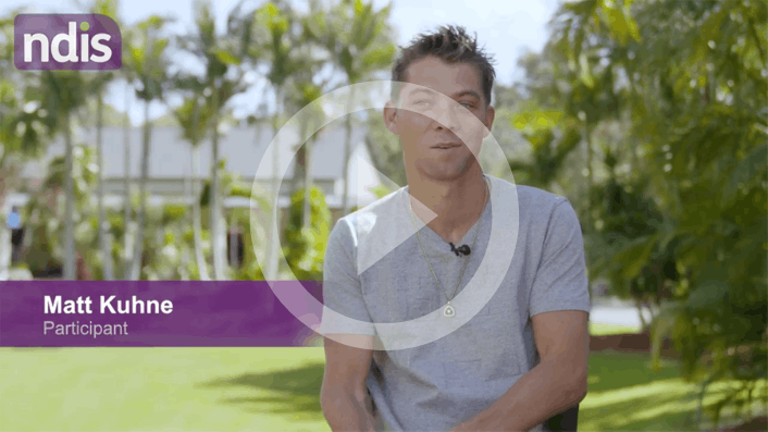 NDIS Participant Story: Matthew powers to independence