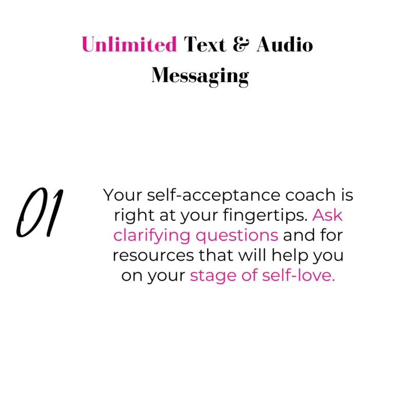 Black, pink lettering inviting to listen to podcast as a member