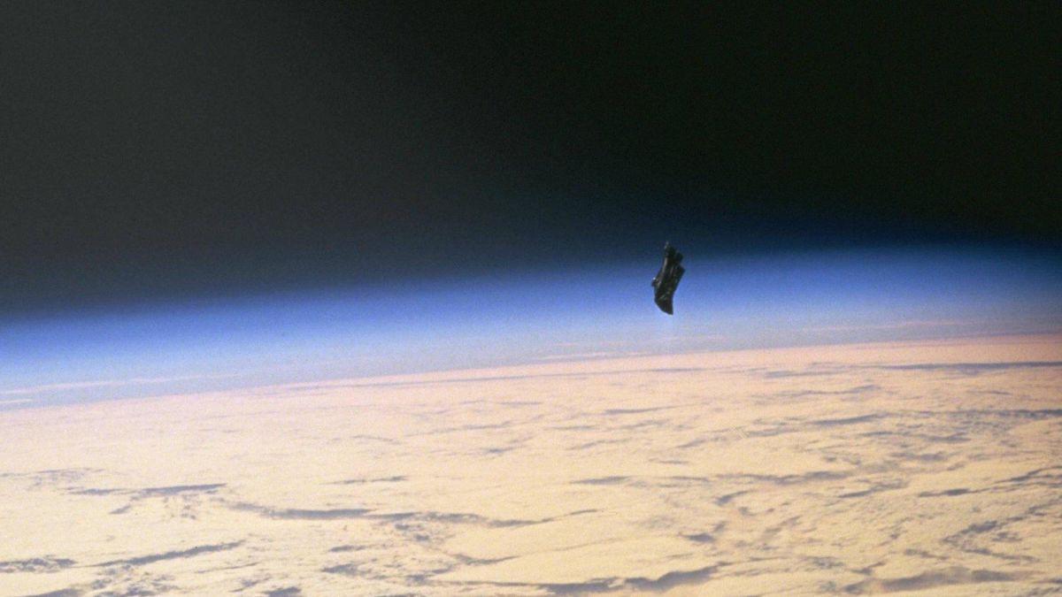 Black Night Satellite