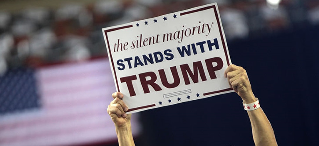 Trump Continues to Hold Voters Attention