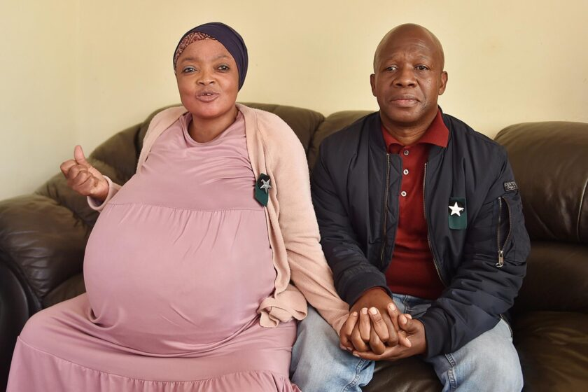 Woman Claims to Give Birth to Ten Babies… But Her Husband Isn't Convinced