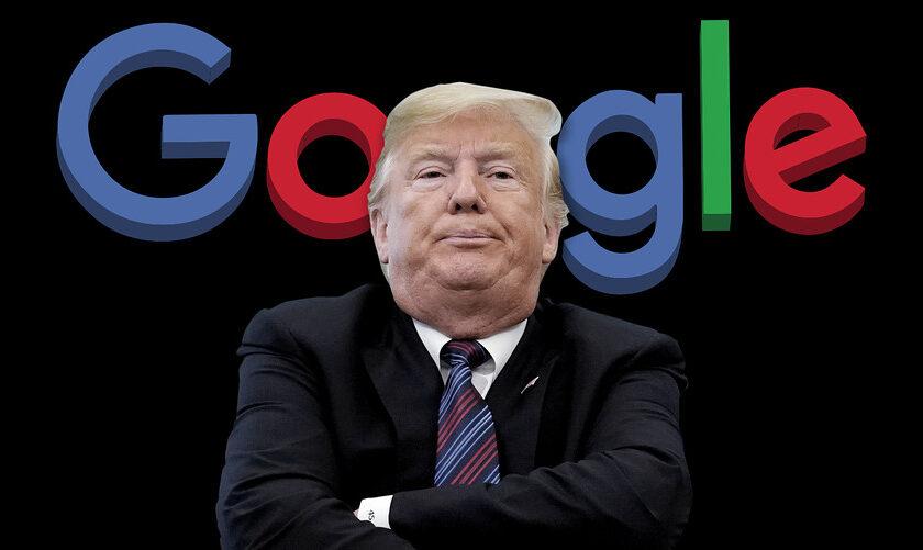 NOTICE: Proof that Google Has Been Targeting Donald Trump