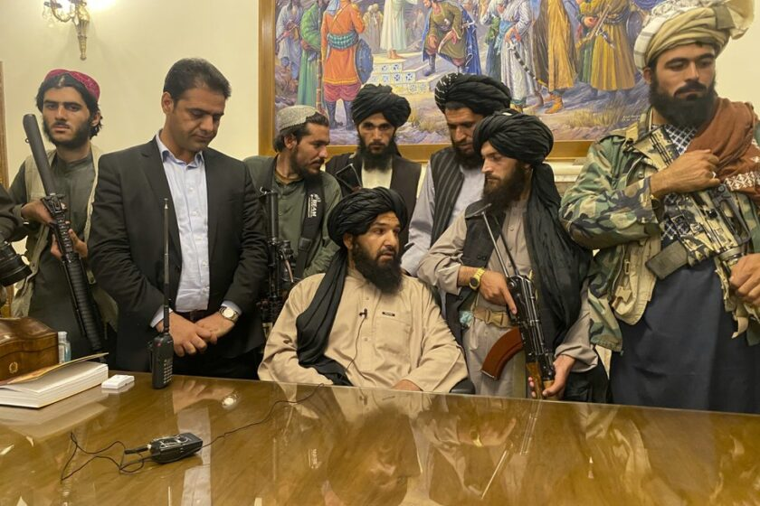 Trump Can't Tweet, But a Taliban Spokesman Can!