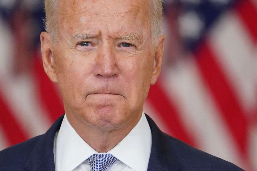 NOTICE: Biden Tries to Shift Blame for His Mistakes in Afghanistan