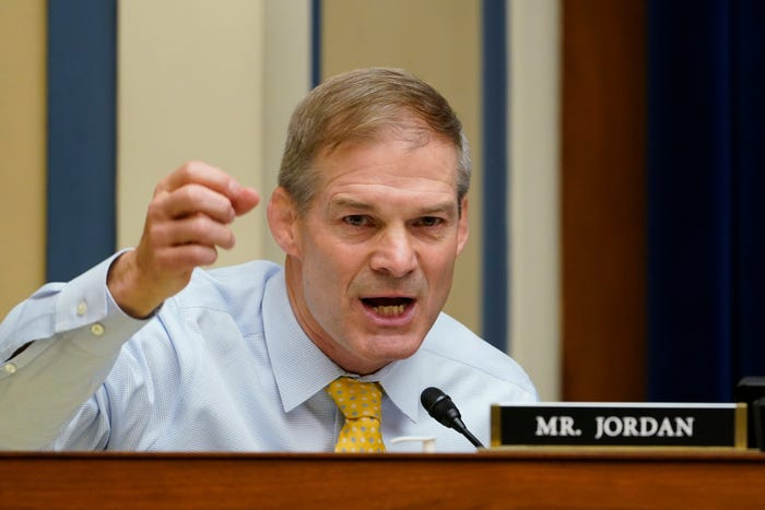 Jim Jordan Among Top Republicans Calling For Biden Resignation Over Botched Withdrawal From Afghanistan