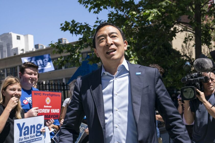 BREAKING: Andrew Yang Fed Up With Dems Shenanigans Leaves and Goes Independent