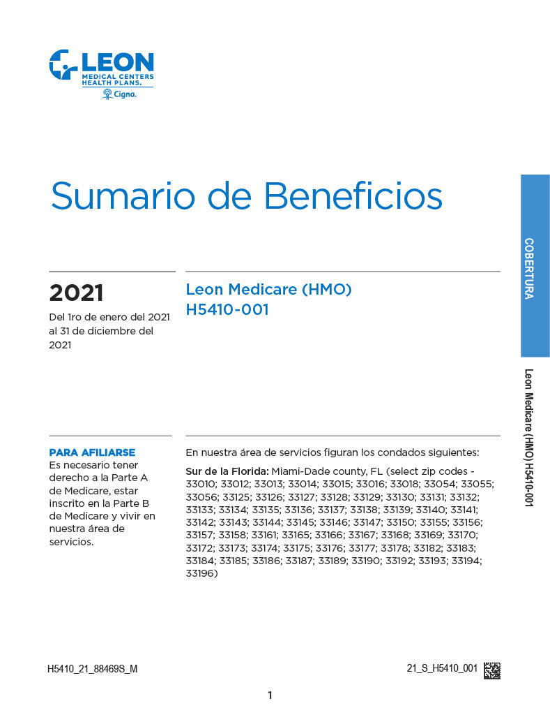 Summary of Benefits Leon Spanish1024_1