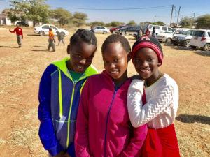 Botswana Three Girls