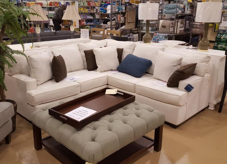 LCO Furn White Sectional