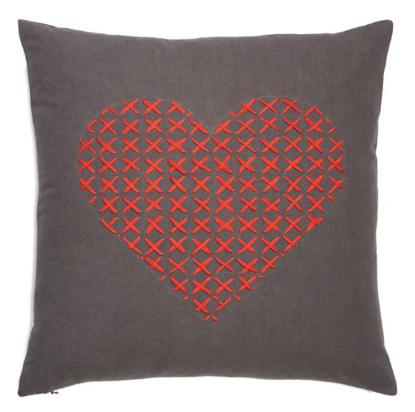 Nordstroms Cross My Heart Pillow