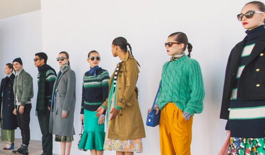 New York Fashion Week J Crew Fall 2016