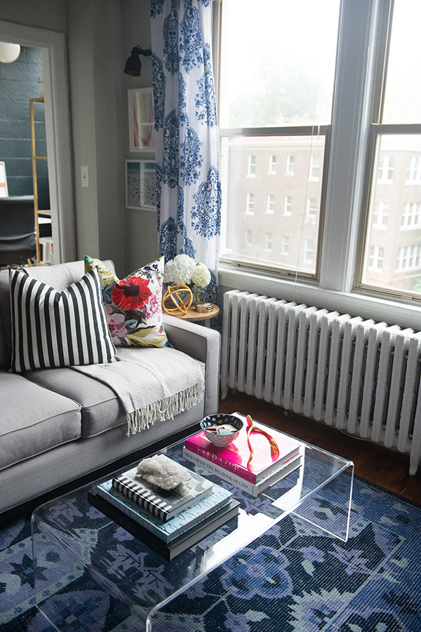 A Layered And Colorful DC Home Tour on GlitterGuide.com