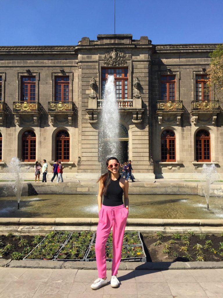 Castillo de Chapultepec in Mexico City - Modern Stripes