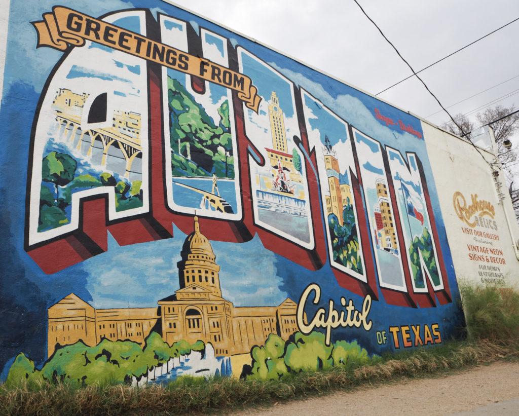 Austin Travel Guide - Modern Stripes