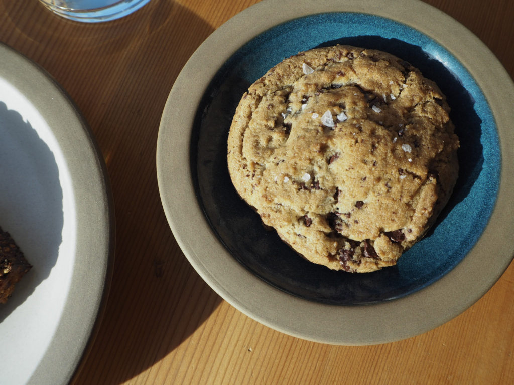 Chocolate Chip Cookie at Tartine - Modern Stripes