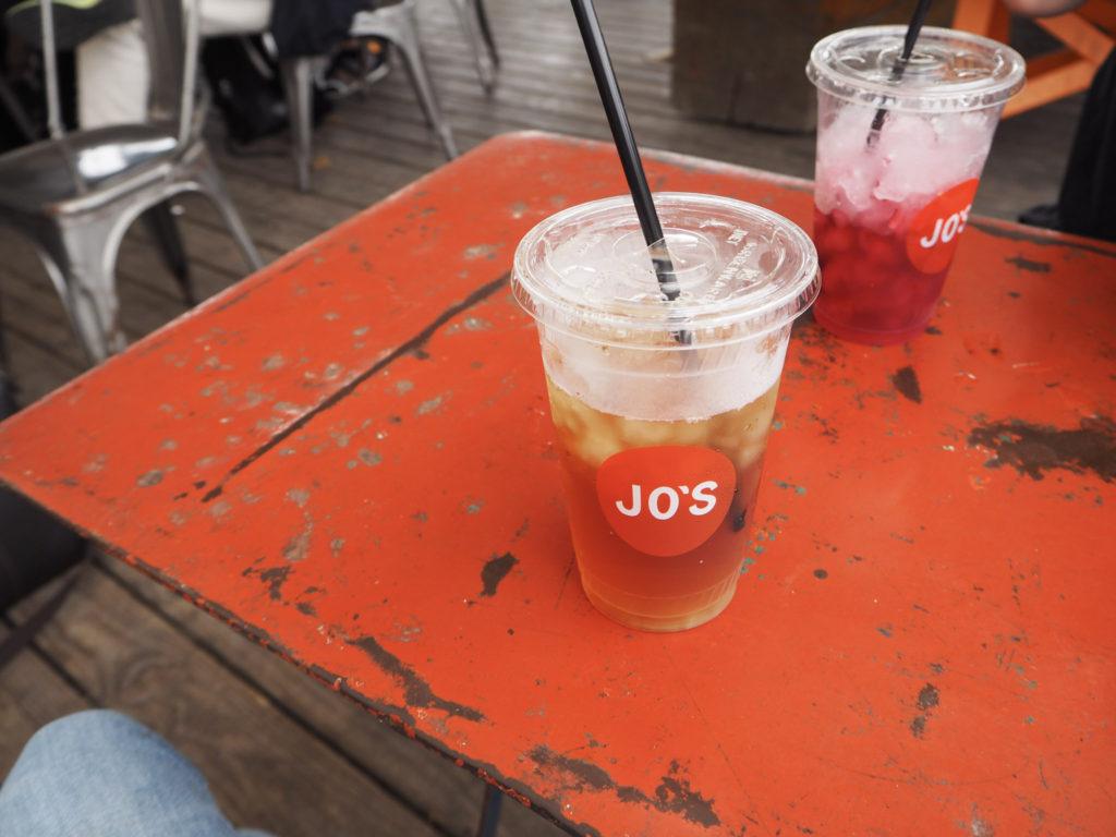 Jo's Coffee Austin - A Long Weekend in Austin on Modern Stripes