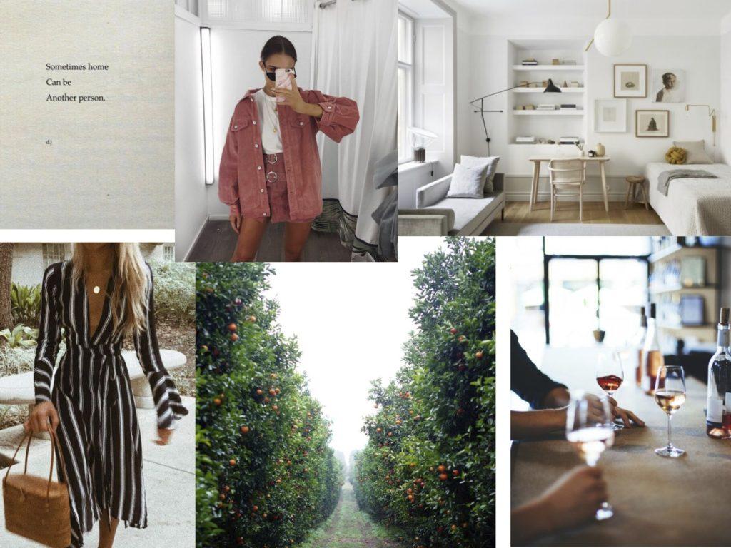 September Mood Board - Modern Stripes