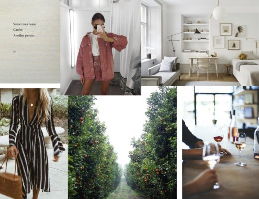 September Mood Board - Modern Stripes