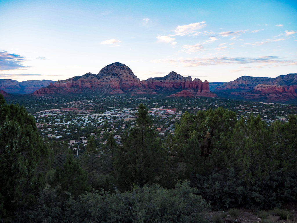 Sunset in Sedona via Modern Stripes