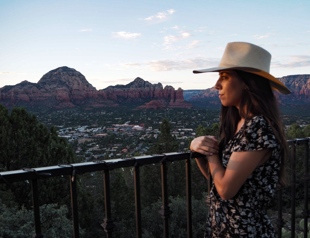 Sky Ranch Lookout in Sedona via Modern Stripes