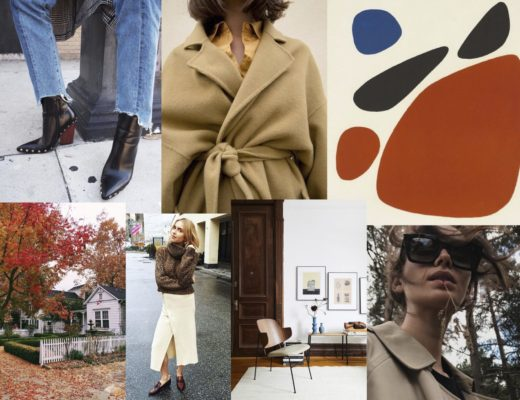 November Mood Board on Modern Stripes
