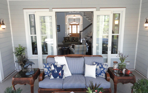 Outdoor Patio Oasis - Mike Maher home builder