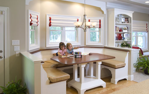 Kids at Eat-In Kitchen Table