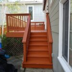 Deck staining in San Carlos, CA, by Walls n Beyond Painting Company