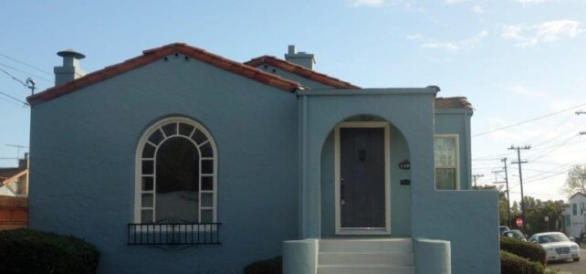 Stucco paining inside and out